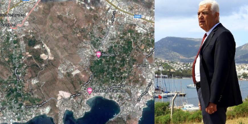 """CHP' li Gürün """"Bir gecede 140 futbol sahası büyüklüğündeki doğal araziyi imara açtılar, itiraz ettik"""