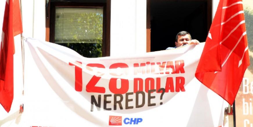 CHP'nin Bodrum'da astığı afiş Muğla Valiliği tarafından yasaklandı