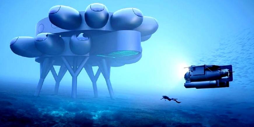 Cousteau'nun torunu sualtına yaşam istasyonu kuruyor