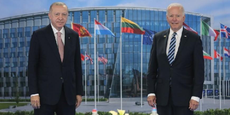 Cumhurbaşkanı Erdoğan ve ABD Başkanı Biden görüşmesi sona erdi, ilk açıklamalar...