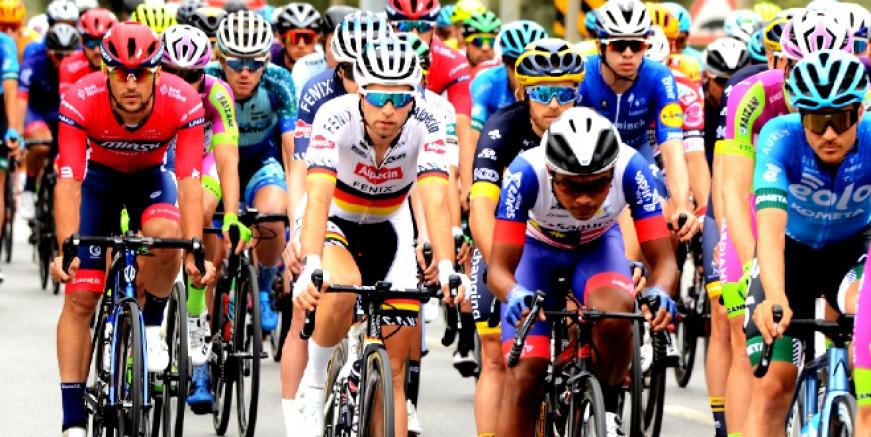 Cumhurbaşkanlığı Bisiklet Turu Bodrum- Kuşadası etabı başladı