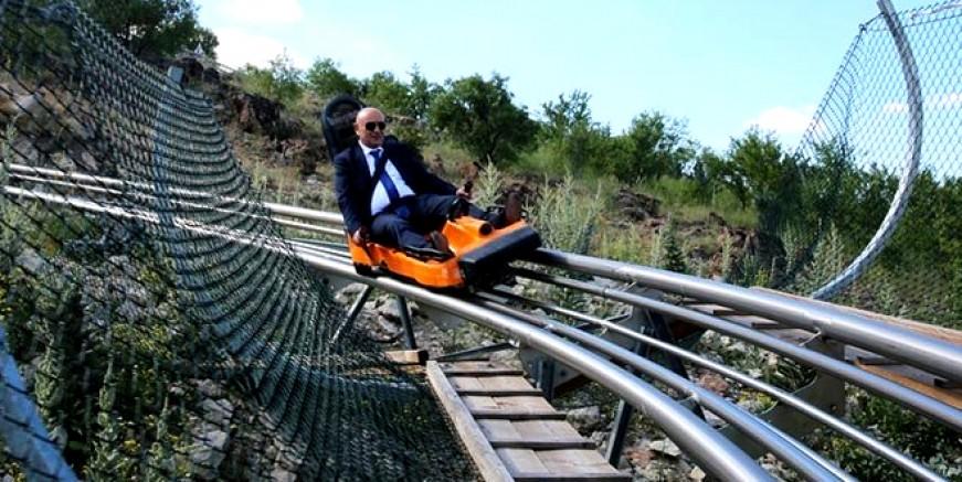Dağ kızağı çok popüler, Bodrum'da yapmak çokmu zor?