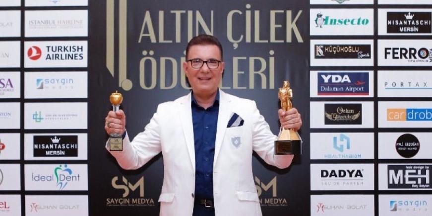 """Dalaman Havalimanı'na """"Mersin Altın Çilek Ödülleri""""nde 2 ödül birden"""