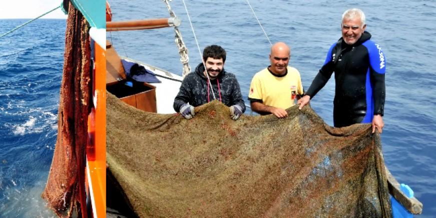 Deniz dibi yaşamının kabusu hayalet ağlar geri dönüştürülerek beyaz eşya üretilecek