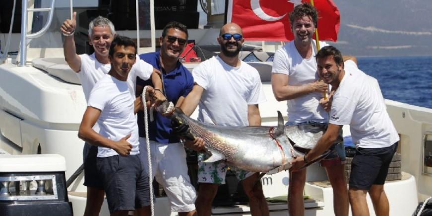 Didim Açık Deniz Sportif Balık Avı Yarışmasının 2.si gerçekleşti