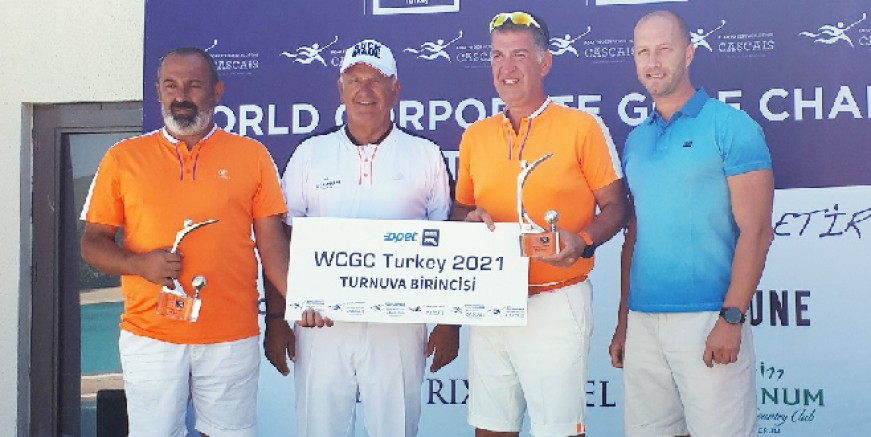Dünya Kurumsal Golf Turnuvası Türkiye 2021 şampiyonları belirlendi