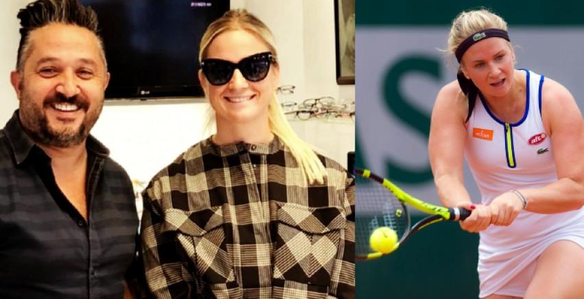 Dünyaca ünlü Belçikalı tenisçi Bonaventure Bodrum'da