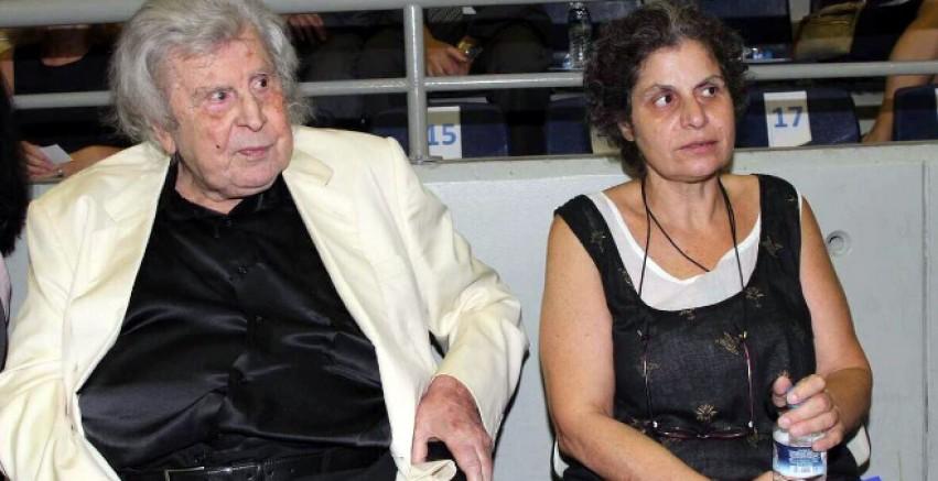 Dünyaca ünlü Yunan Besteci  Theodorakis'in kızı aç kaldı: