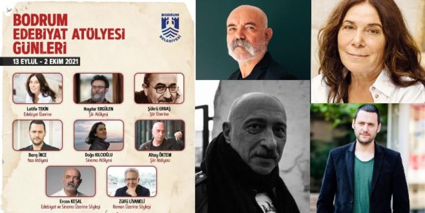 Edebiyat ve Sinema Ustaları Bodrum'da