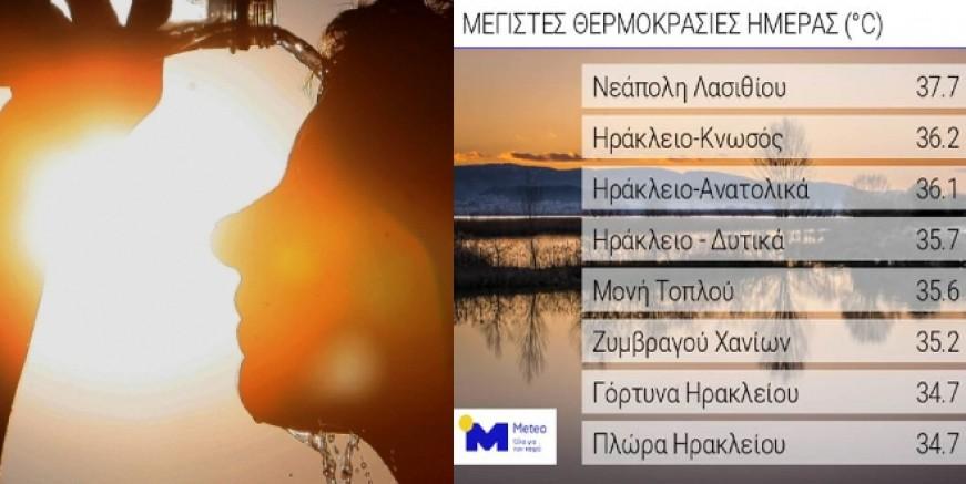 Ege'de tarihi sıcaklık rekoru kırıldı
