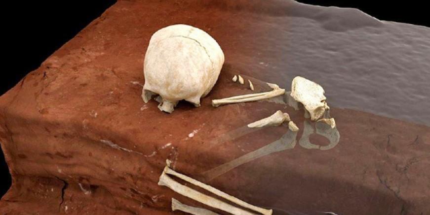 En eski insan mezarı keşfedildi
