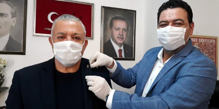 Eski DSP Milletvekili Bodrum'da AK Parti'ye geçti
