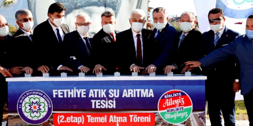 Fethiye'ye 55 milyon TL. lik yatırımın temeli atıldı