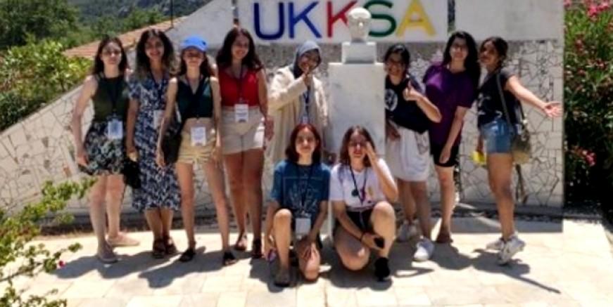 Genç liderler yaz kampı tamamlandı