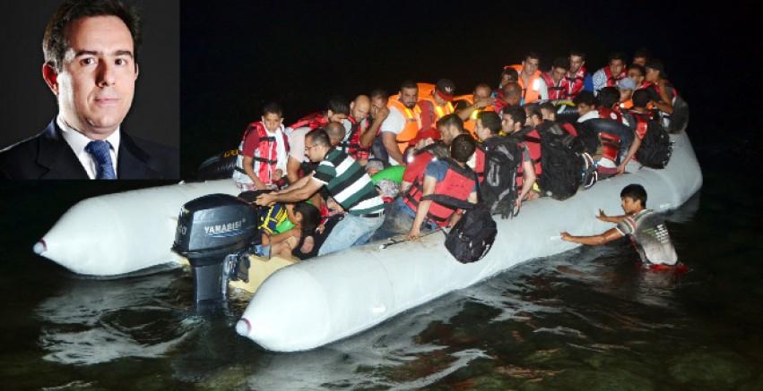 Göç Bakanı Mitarakis: Yunanistan'da 32.540 göçmen