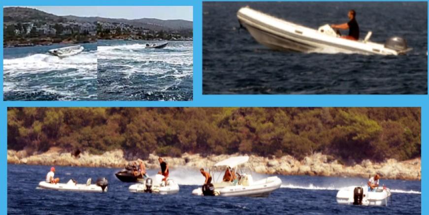 Göltürkbükü' nde botlar çarpıştı, kaptansız kalan bot kabus yaşattı