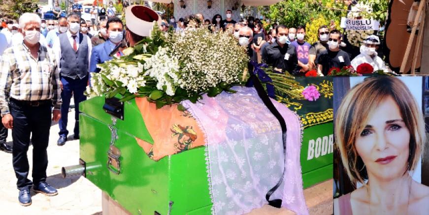 Gürcistan'da yaşamını yitiren Karabağlı Bodrum'da toprağa verildi.