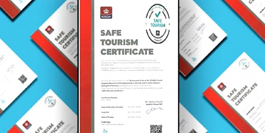 Güvenli Turizm Belgesi alan işletme sayısı 5 bini buldu