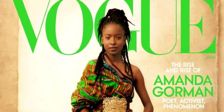 İlk defa bir şair Vogue dergisine kapak oldu