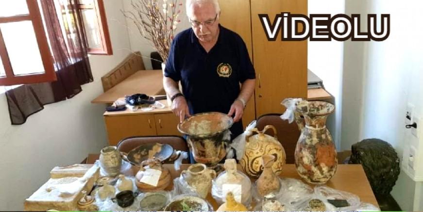 İş adamı Rodos'ta  5 milyon Euroluk tarihi eserle yakalandı