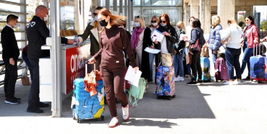 İşte mart ayında ve ilk 3 ayda Türkiye'ye gelen turist sayısı