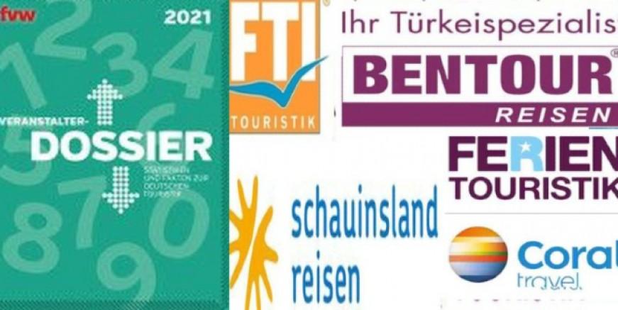 İşte tur operatörlerinin karnesi. Listede iki Türk firması var. Veri açıklamayan TUI ve DER listede yok
