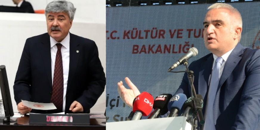 İYİ Partili Ergun: Bakan Ersoy'a turizmcinin borcunu, hacizli ve satılık otelleri sordu