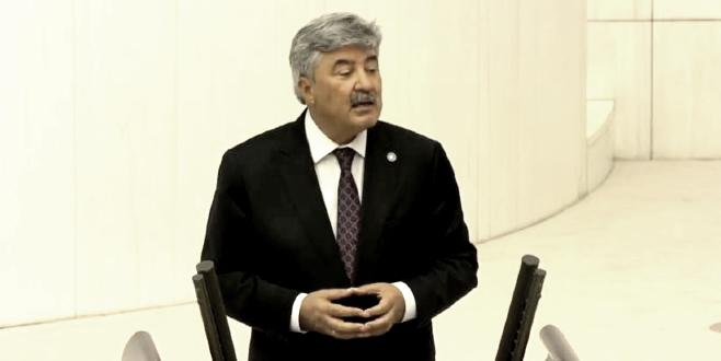 İyi Partili Metin Ergun Meclis'te Paris Sözleşmesini  anlattı