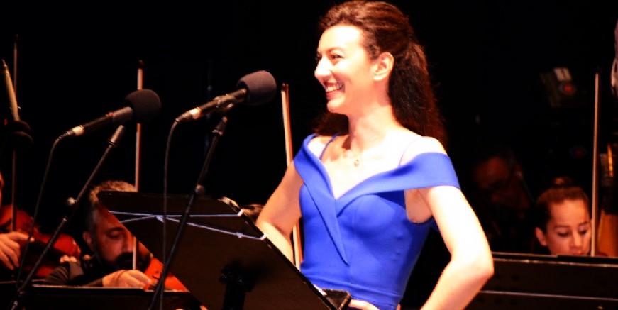 İzmir Devlet Senfoni Orkestrası Bodrum Kalesi konserinde büyüledi