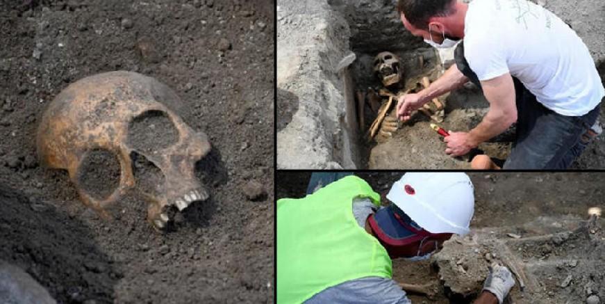 Kadıkalesi kazılarında 800 yıllık iskeletler bulundu