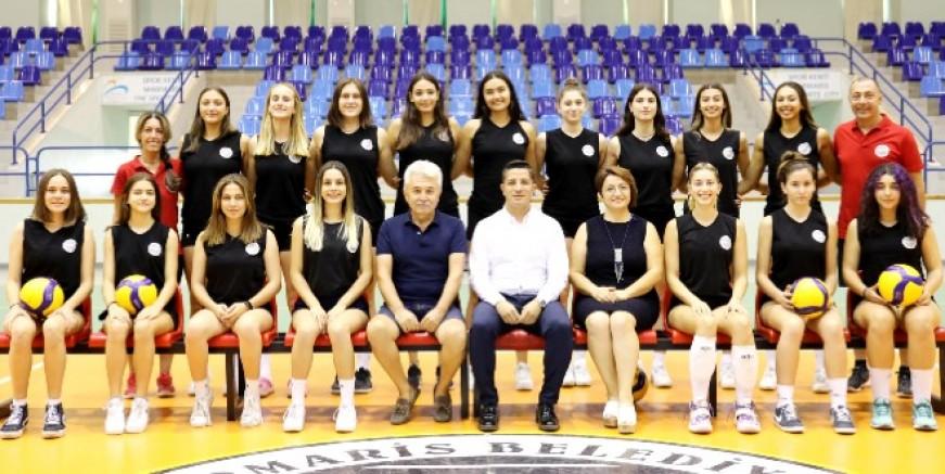 Kadın voleybol takımı lige hazır