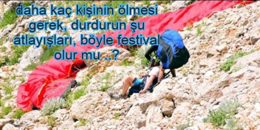 KATLİAM GİBİ FESTİVAL OLDU, BUGÜNDE BİR YARALI..