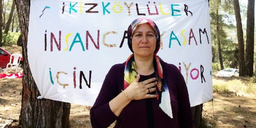 Katliamı Türkiye'ye duyuran kadın
