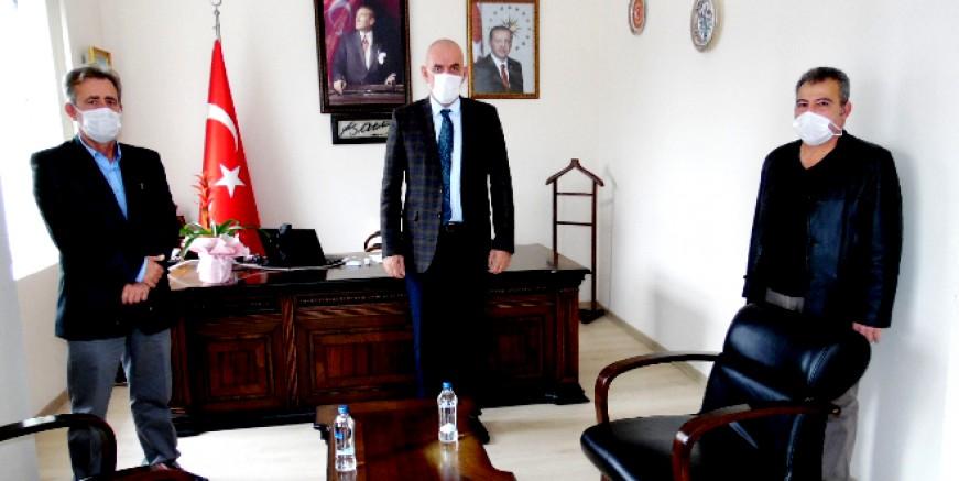 Kaymakam Aksoy'dan Bireysel Turizm Taşımacıları'na önemli destek