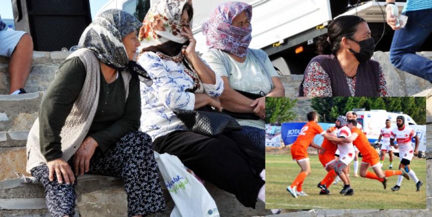 Köylü kadınların Rugby'e ilgisi büyük oldu