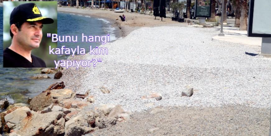 Kumbahçe'yi Maldiv yapamadık bari mıcır dökelim