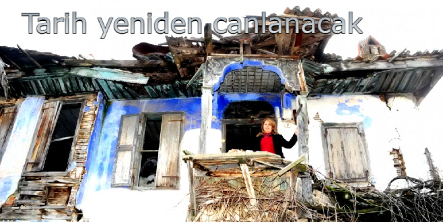 Macar ustaların yaptığı Milas evlerinde tarih canlanacak