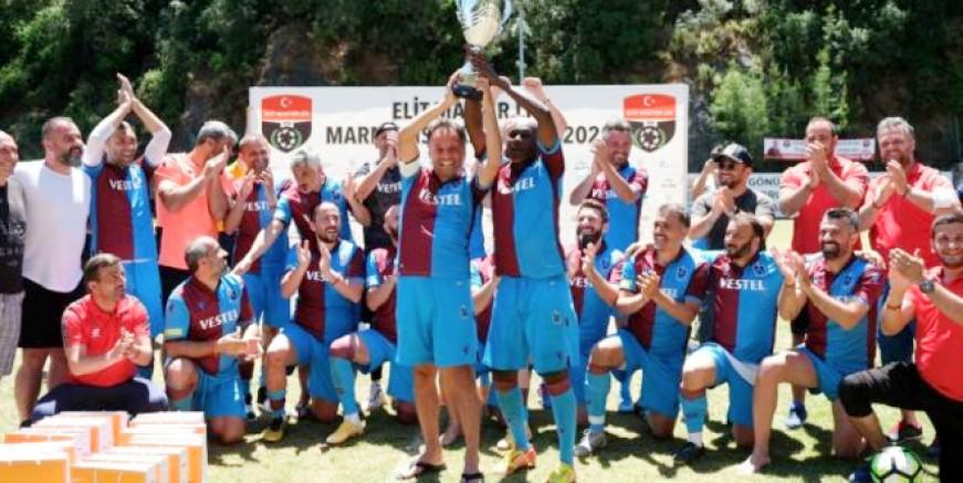 Marmaris'te şampiyon Maçka Belediyesi oldu