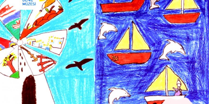 Mavi Yolculuk Resim Yarışması'nda ödül  kazanan öğrenciler belirlendi