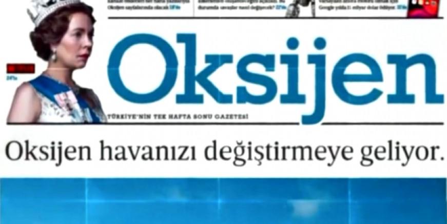 Medya dünyasının yeni gazetesi OKSİJEN 15 Ocak'ta çıkıyor