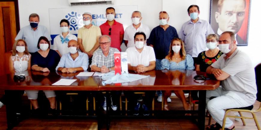 Memleket Partisi Marmaris ilçe teşkilatı oluşturuldu