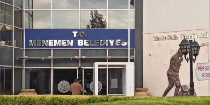 Menemen Belediyesi'ne operasyon, 29 kişi gözaltında