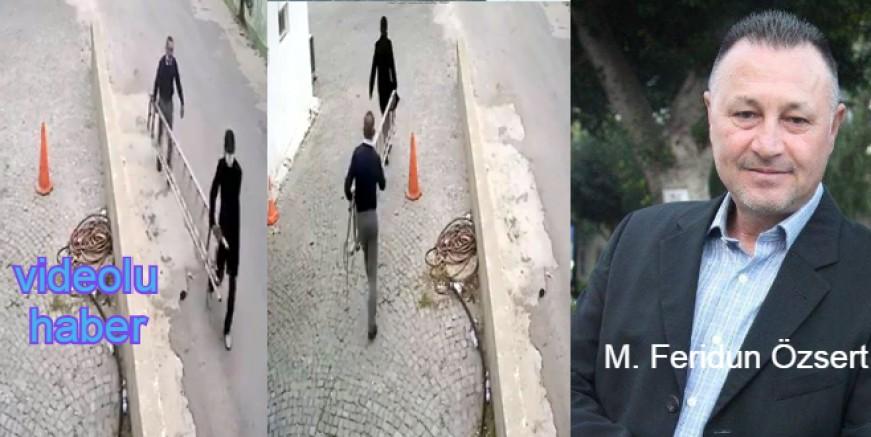 Merdivenini güpegündüz çalan hırsızlara 24 saat süre verdi