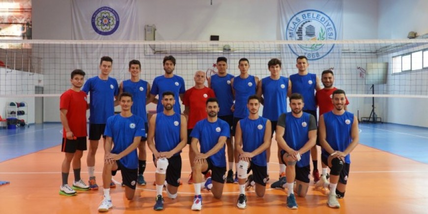 Milas Belediyespor 1. Lig maçlarına hazırlanıyor