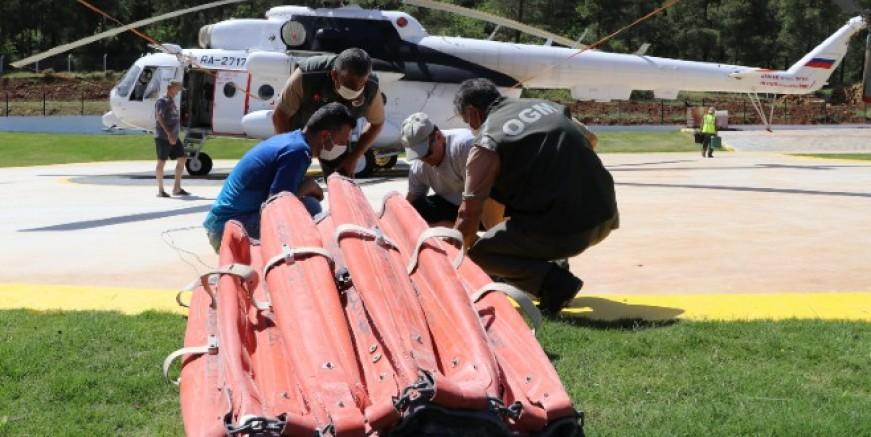 Milas ve Marmaris'te yangın helikopterleri göreve başladı