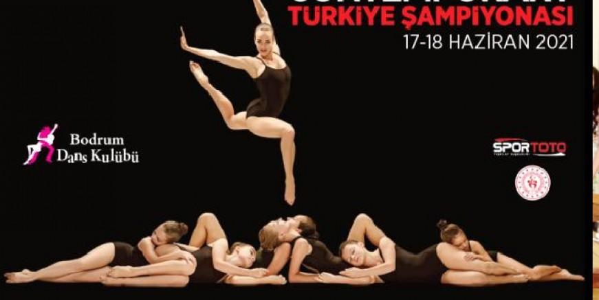 Modern Dans Türkiye Şampiyonası Bodrum'da yapılacak