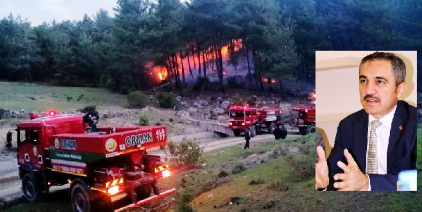 Muğla'da orman yangını sezonu açıldı ,3 ayda 33 yangın çıktı