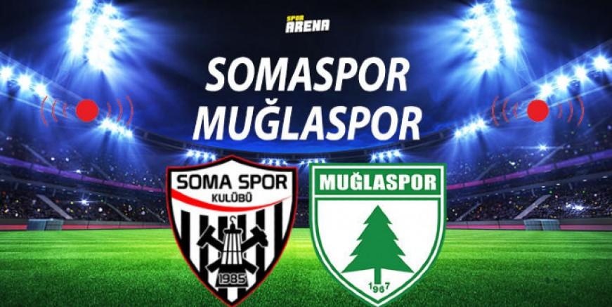 Muğlaspor 2. Ligin kapısında Somaspor ile kapıştı….