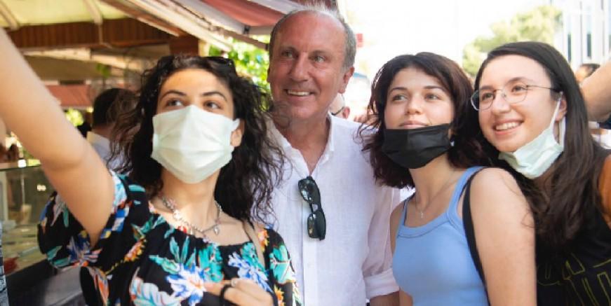 Muharrem İnce Bodrum'da : Muğla'da ki haberler çökertme ile ilgili değil Çökme ile ilgili