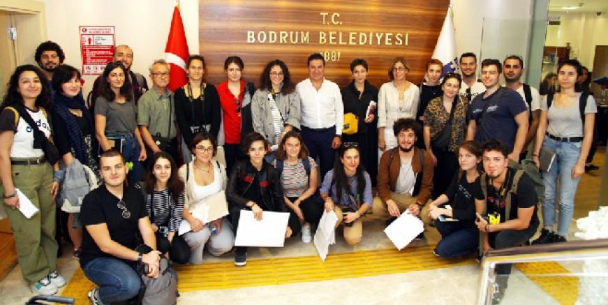 ODTÜ Mimarlık Fakültesi öğrencilerine Bodrum Projesi ödül getirdi